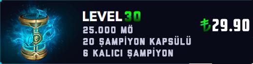 EUNE 30 LEVEL KAPSÜL (25.000+ MAVİ ÖZ)