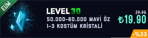 EUW 50-60K Mavi Öz Unranked Hesap