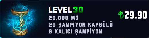 <b>RU</b> 30 LEVEL KAPSÜL (20.000+ MAVİ ÖZ)